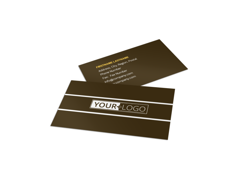 Insurance Agency Business Card Template Preview 1