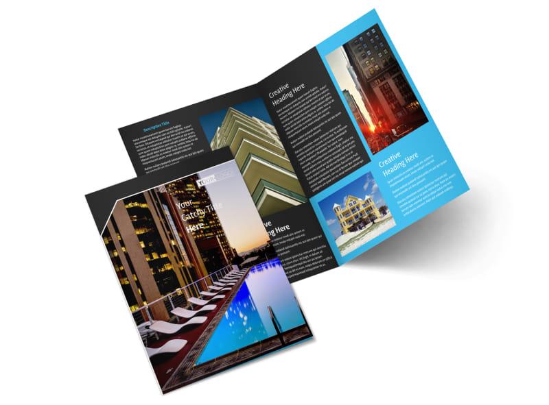 Condominium Real Estate Bi-Fold Brochure Template 2