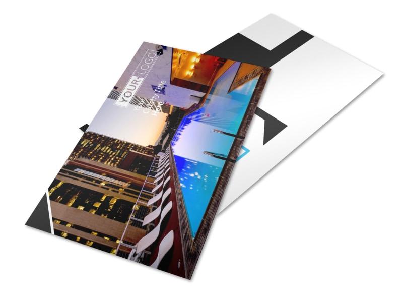 Condominium Real Estate Postcard Template 2