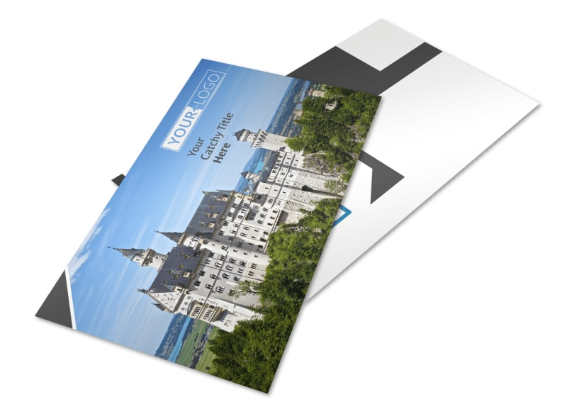 European Travel Agency Postcard Template 2