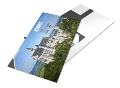 European Travel Agency Postcard Template 2 preview