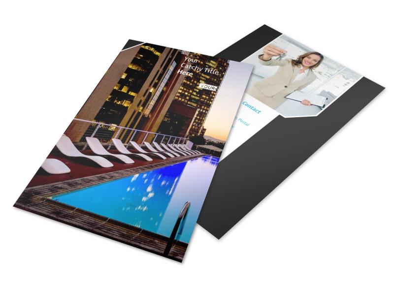Condominium Real Estate Flyer Template 3