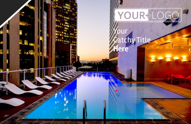 Condominium Real Estate Postcard Template Preview 2
