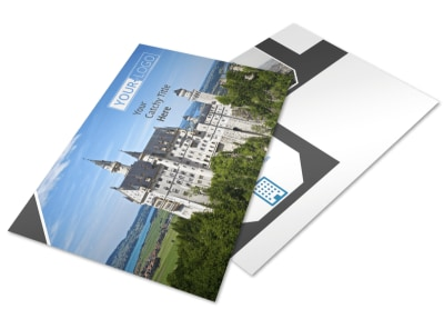 European Travel Agency Postcard Template