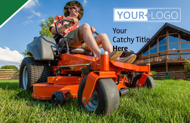 Lawn Care Service Postcard Template Preview 2