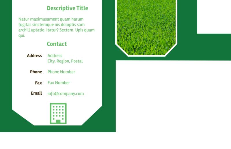Lawn Care Service Postcard Template Preview 3