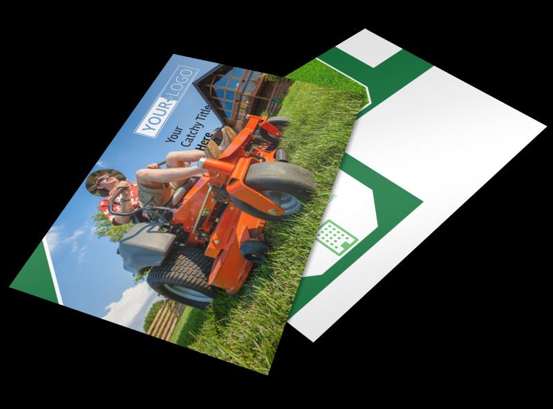 Lawn Care Service Postcard Template Preview 1