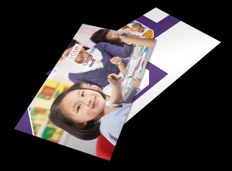 Child Care Center Postcard Template Preview 1