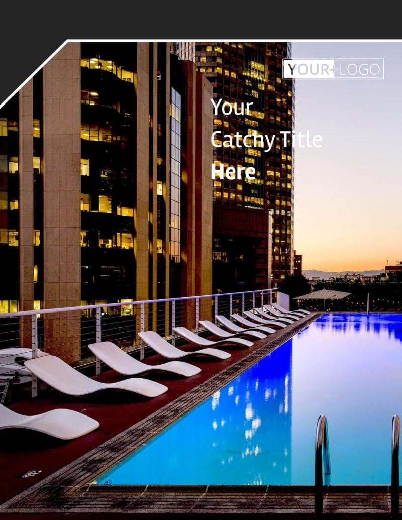 Condominium Real Estate Flyer Template Preview 2