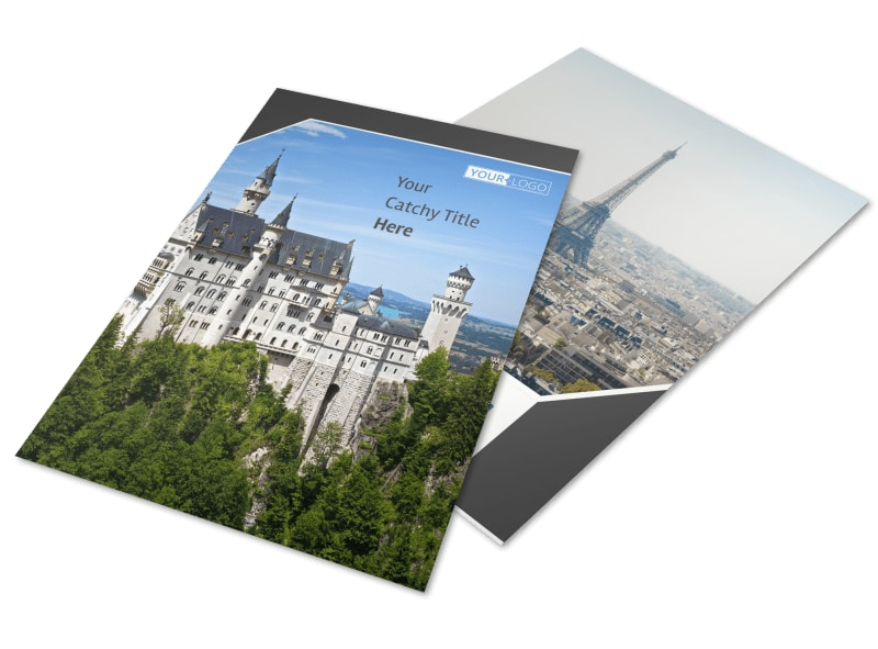 European Travel Agency Flyer Template Preview 4