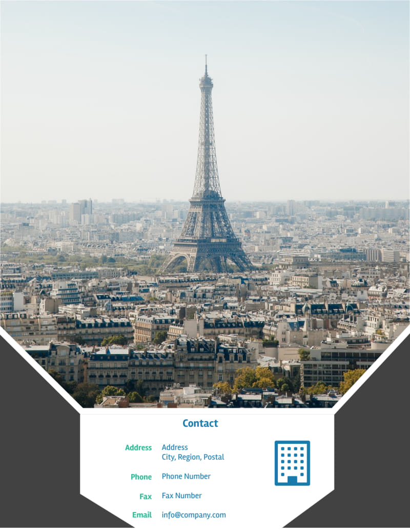 European Travel Agency Flyer Template Preview 3