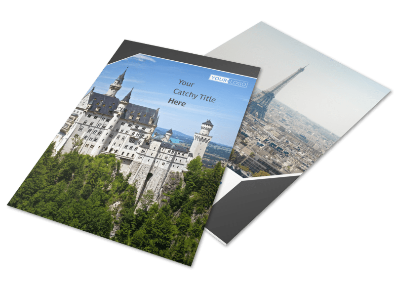 European Travel Agency Flyer Template Preview 1