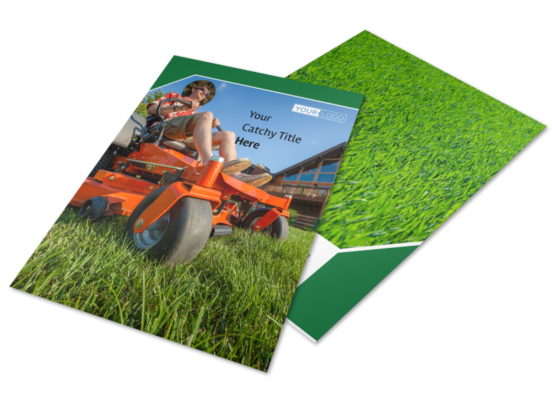 Lawn Care Service Flyer Template Preview 1