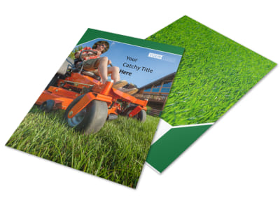 Lawn Care Service Flyer Template