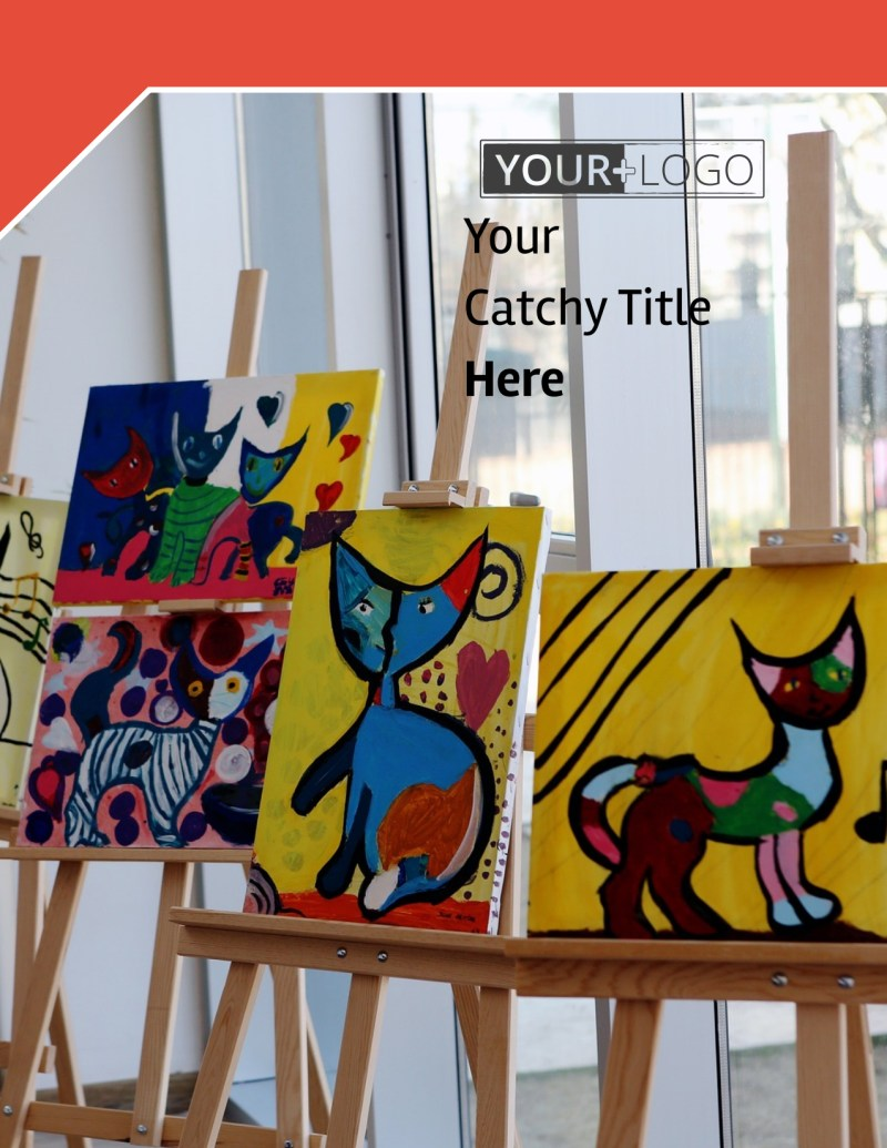 City Art Exhibition Flyer Template Preview 2