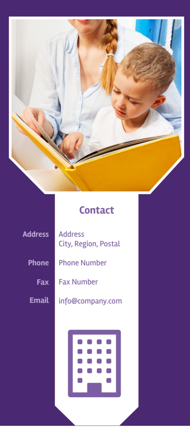Child Care Center Flyer Template Preview 3