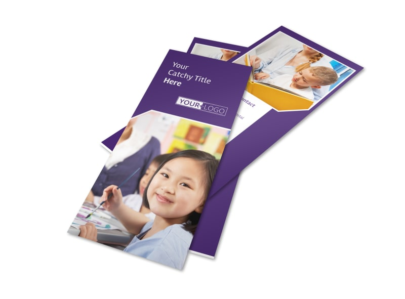 Child Care Center Flyer Template Preview 4