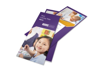 Child Care Center Flyer Template 2 preview