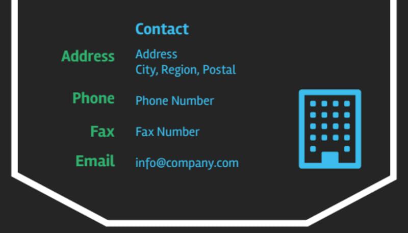 Condominium Real Estate Business Card Template Preview 3