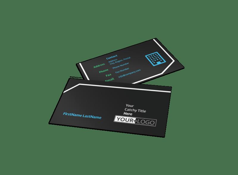 Condominium Real Estate Business Card Template Preview 1