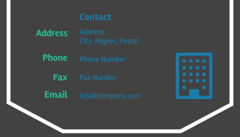 European Travel Agency Business Card Template Preview 3