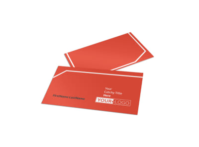 City Art Exhibition Business Card Template