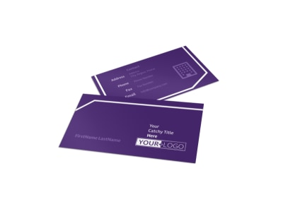 Child Care Center Business Card Template preview