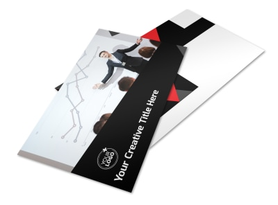 Financial Analysis Consulting Postcard Template 2 preview