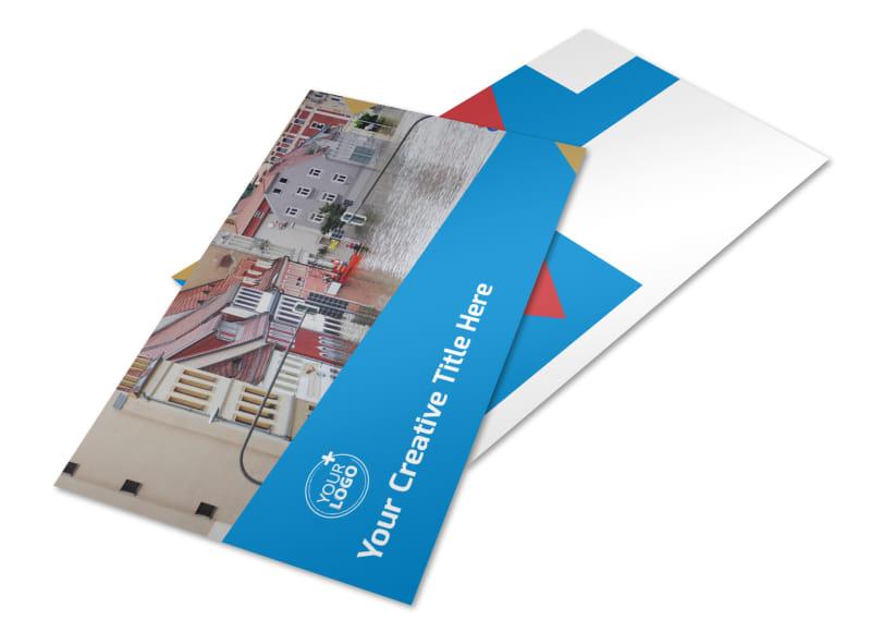 Flood Insurance Postcard Template 2