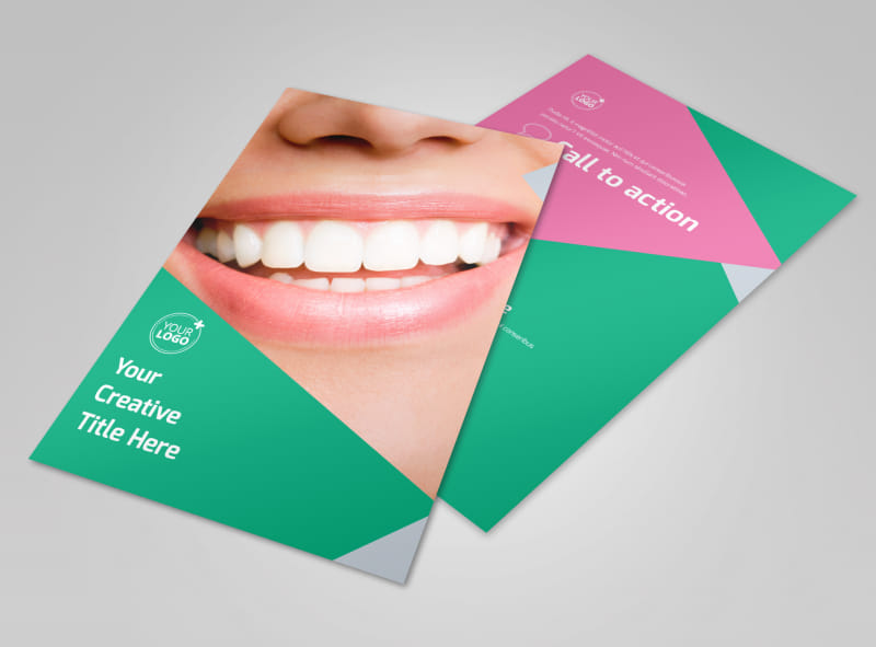 Dental Surgery Center Flyer Template 3