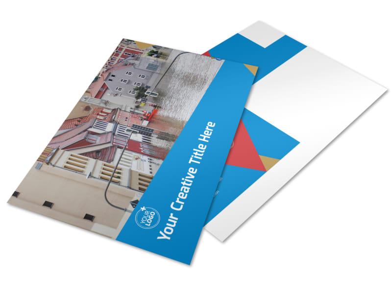 Flood Insurance Postcard Template