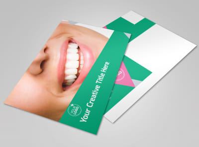 Dental Surgery Center Postcard Template preview