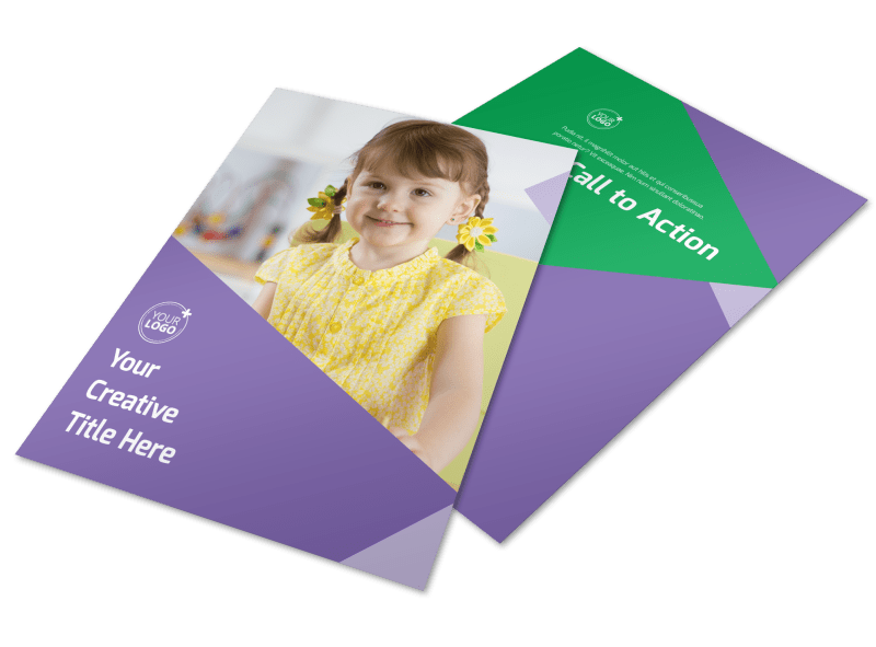 Daycare Center Flyer Template Preview 1