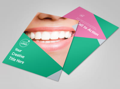 Dental Surgery Center Flyer Template preview