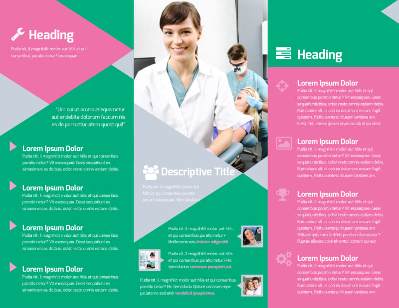 Dental Surgery Center Brochure Template Preview 3
