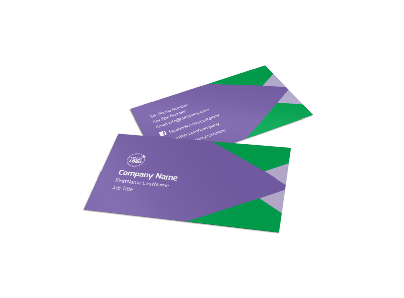 Daycare Center Business Card Template Preview 1