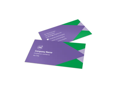 Daycare Center Business Card Template preview