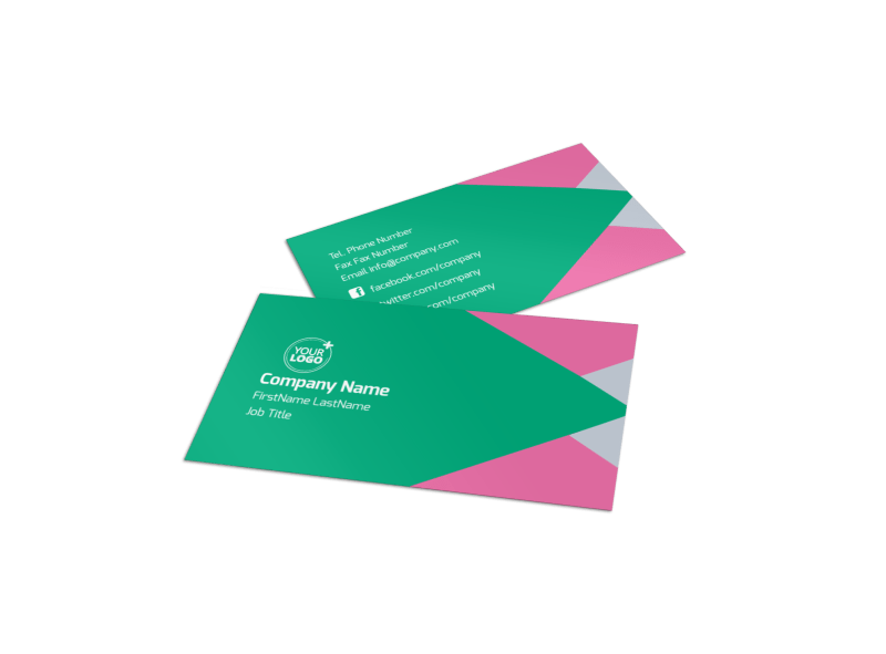 Dental Surgery Center Business Card Template Preview 1
