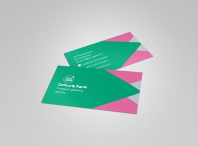Dental Surgery Center Business Card Template preview