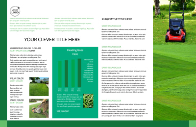 Lawn Mowing Brochure Template Preview 2
