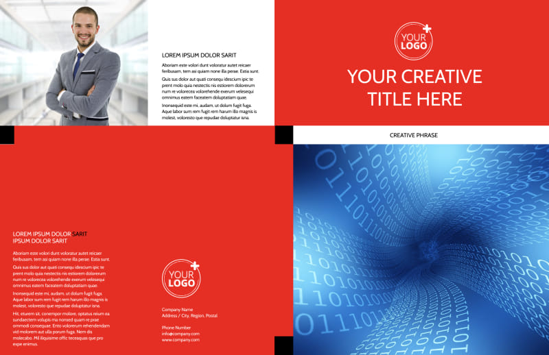 Data Analysis Consulting Brochure Template Preview 2