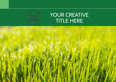 Lawn Mowing Postcard Template Preview 1