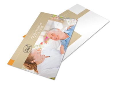 Mental Health Counseling Center Postcard Template 2 preview