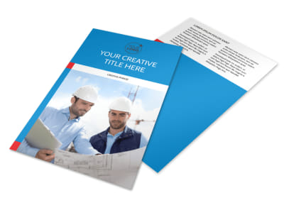Engineering Consultants Flyer Template 3