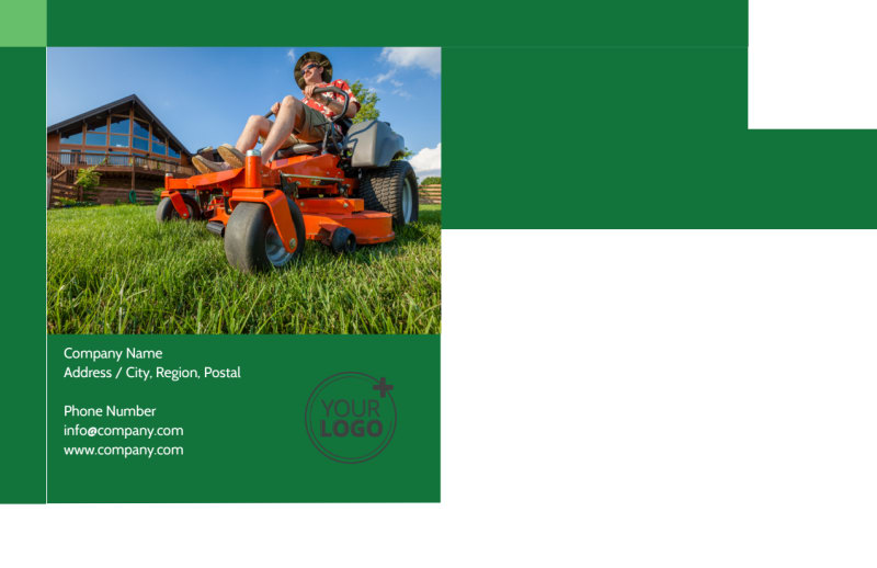 Lawn Mowing Postcard Template Preview 3