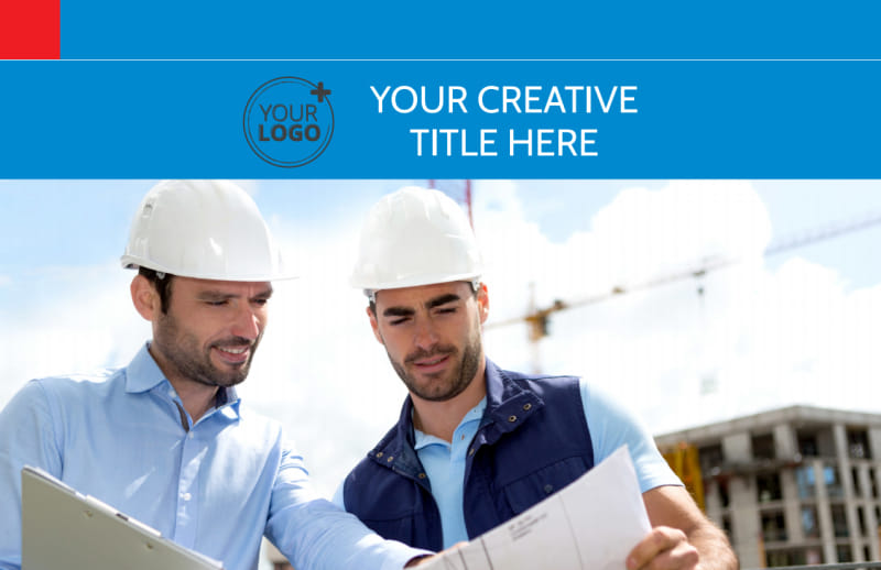 Engineering Consultants Postcard Template Preview 2