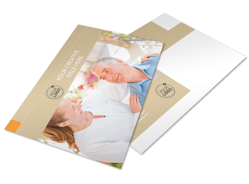 Mental Health Counseling Center Postcard Template Preview 1
