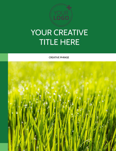 Lawn Mowing Flyer Template Preview 1