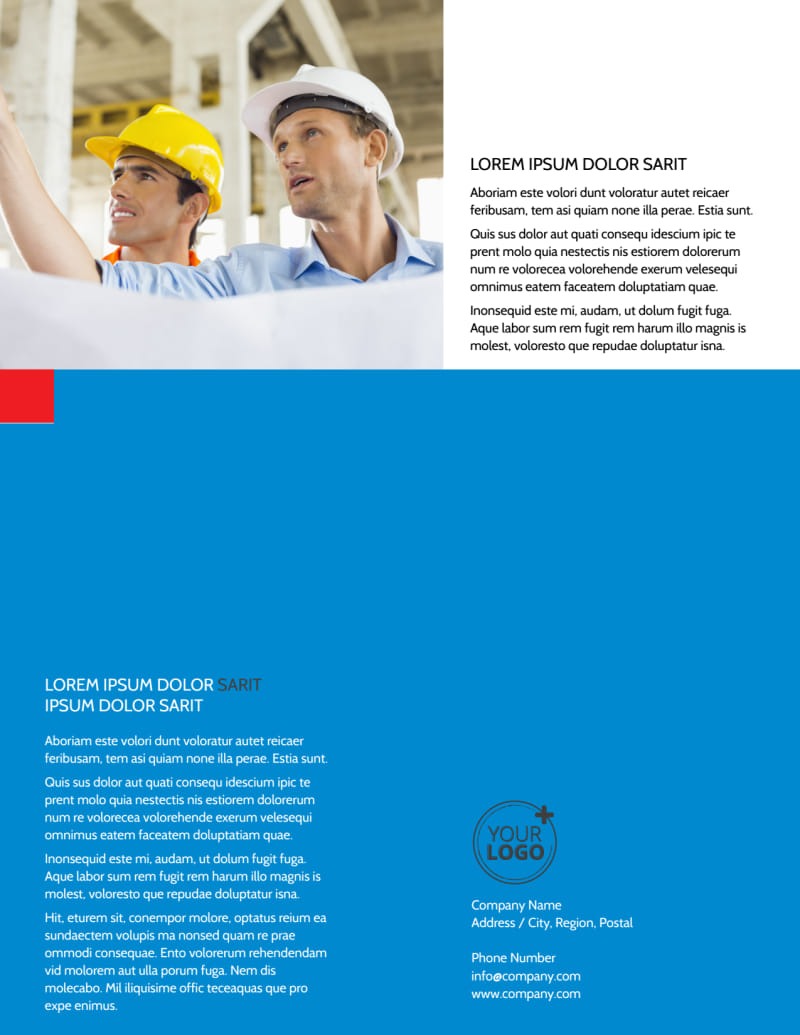 Engineering Consultants Flyer Template Preview 3