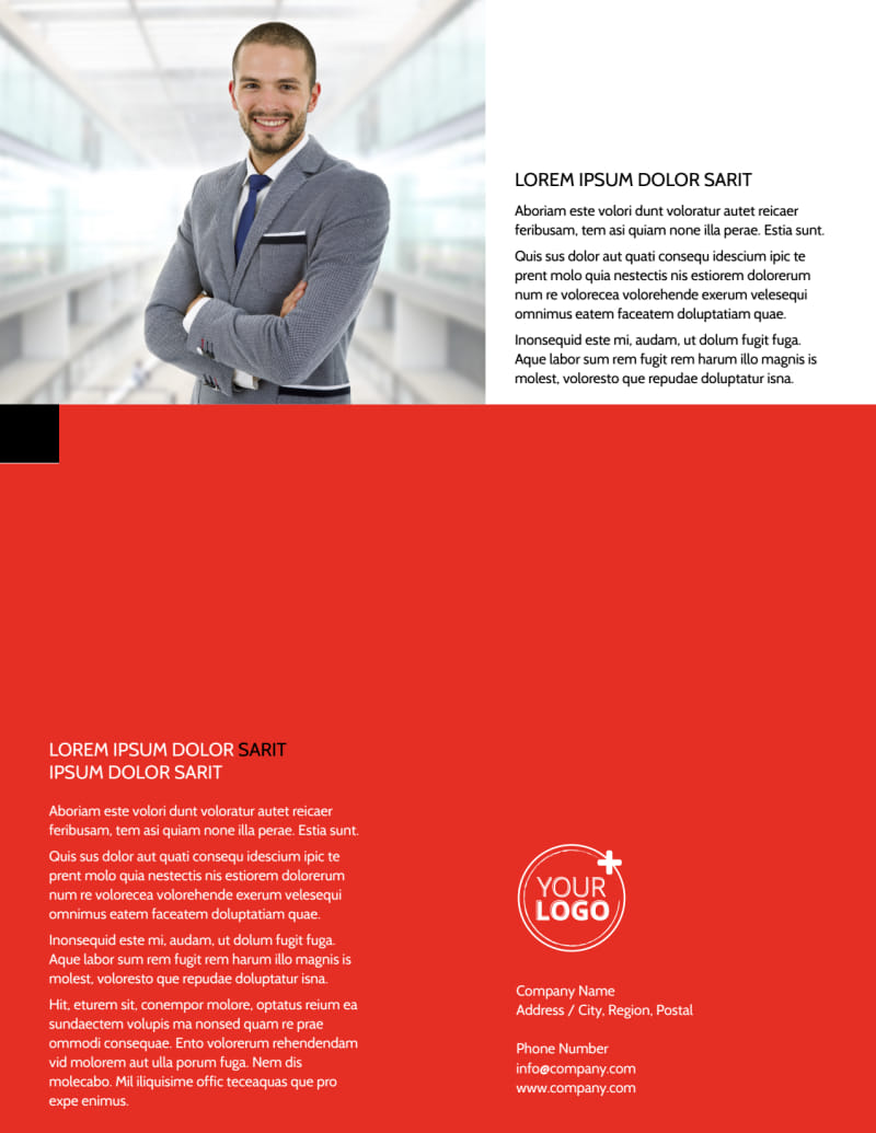 Data Analysis Consulting Flyer Template Preview 3